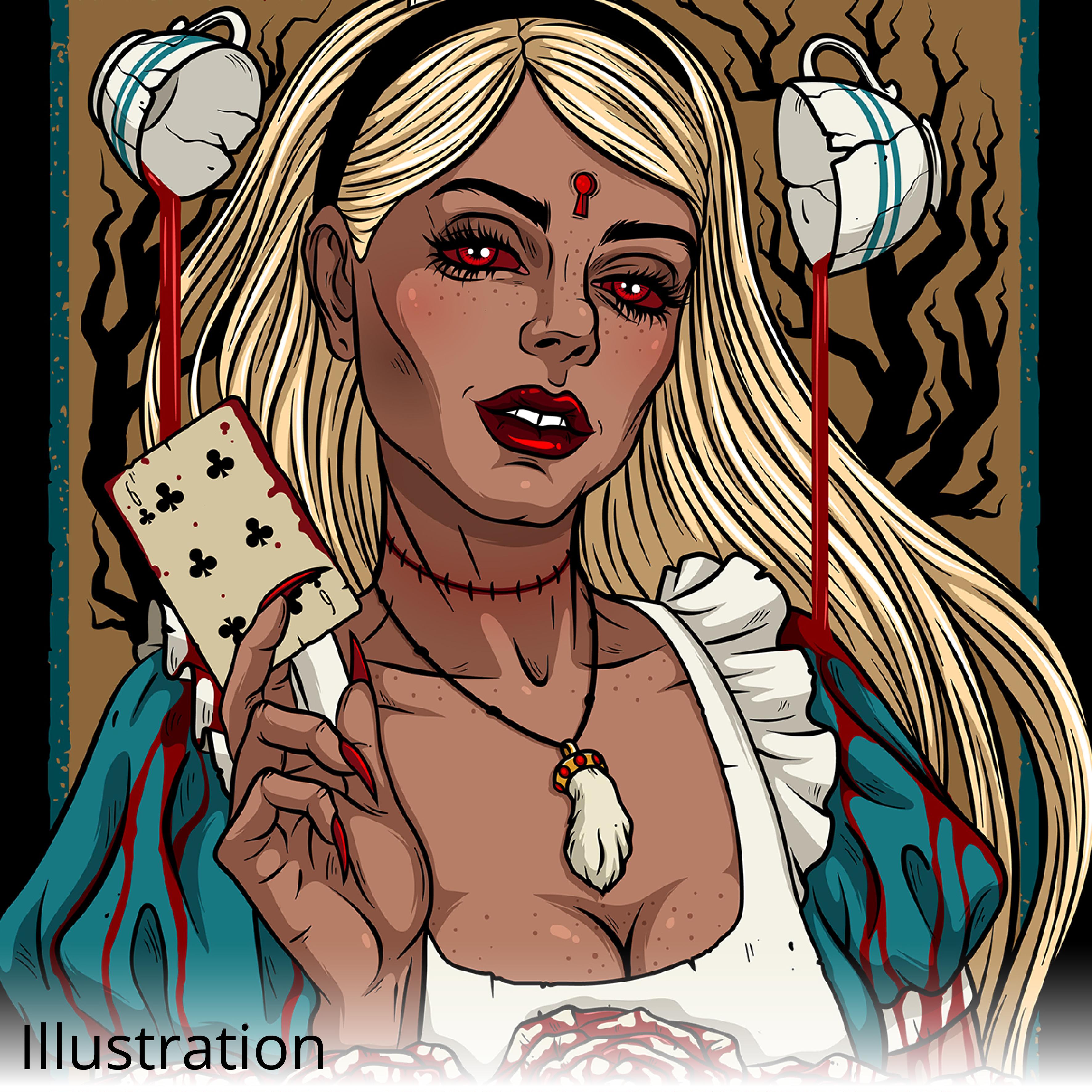 Creepy Alice