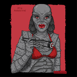 Creature from the Black Lagoon/Tasty