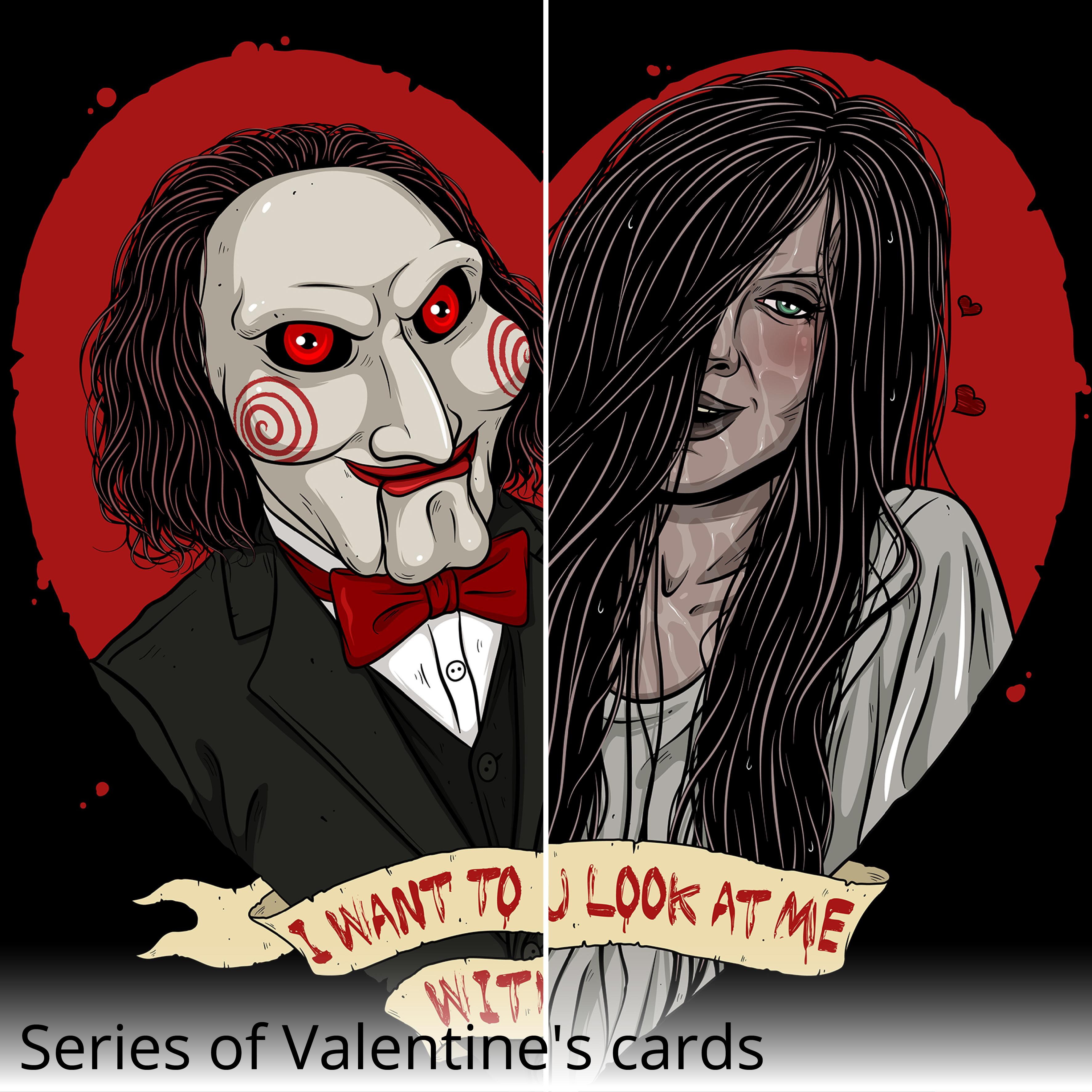 Horror Valentine's Card
