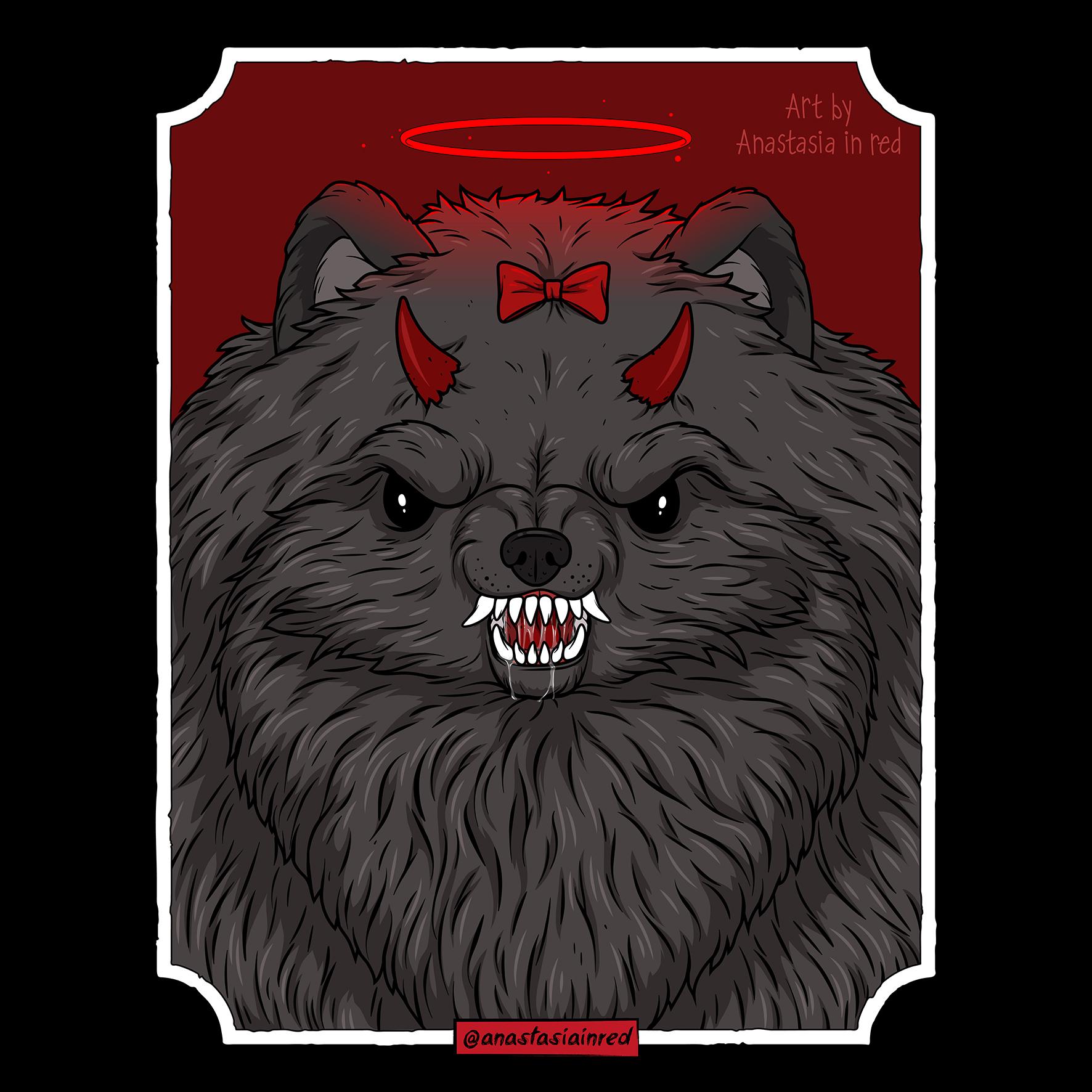 Demonic Spitz