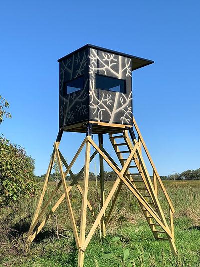 5x5 hunting blind