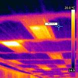 Thermal imaging, chill beams