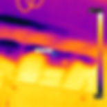 Thermal imaging, missing insulation