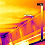 Thermal imaging, air flow