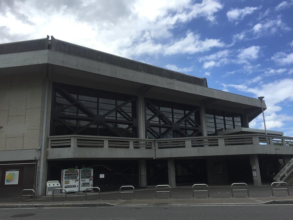 松山市民会館!
