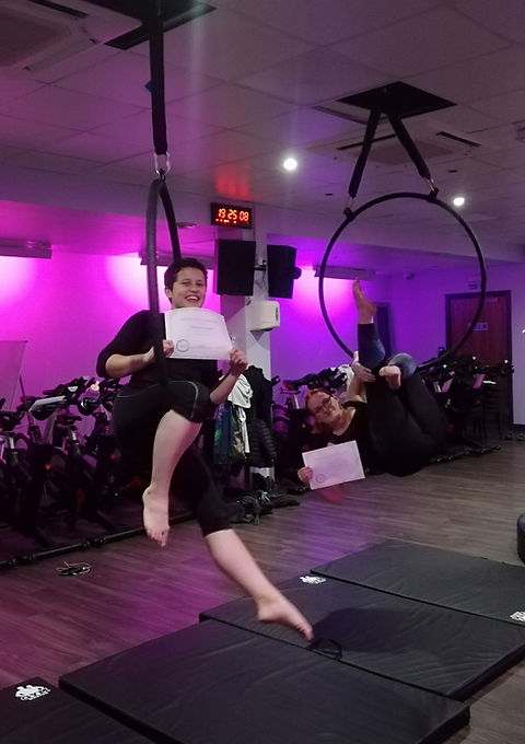 Pole Dance and Aerial Hoop/Lyra Parties at Delilah High Aerial