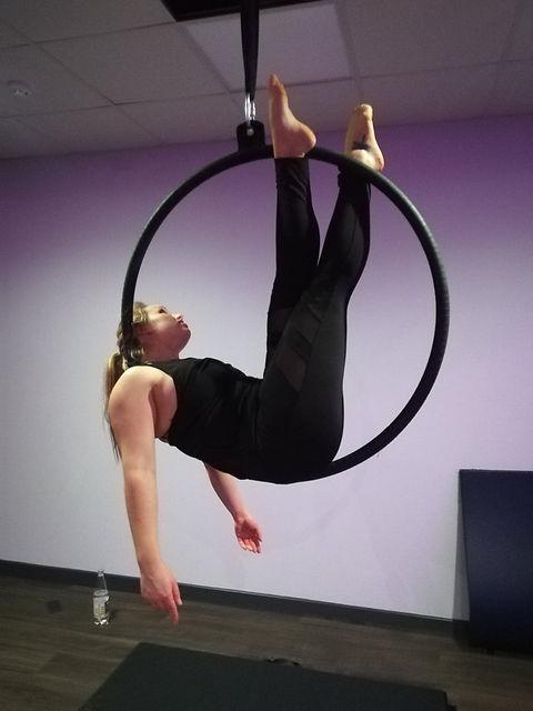 Beginner Aerial Hoop/Lyra Classes at FeelFit Gym Oxford