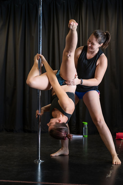 Pole Dance and Aerial Hoop/Lyra Private Classes at Delilah High Aerial