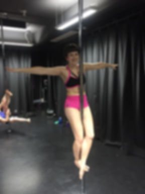 Beginner and Low Intermediate Pole Dance Classes at The Oxford Academy