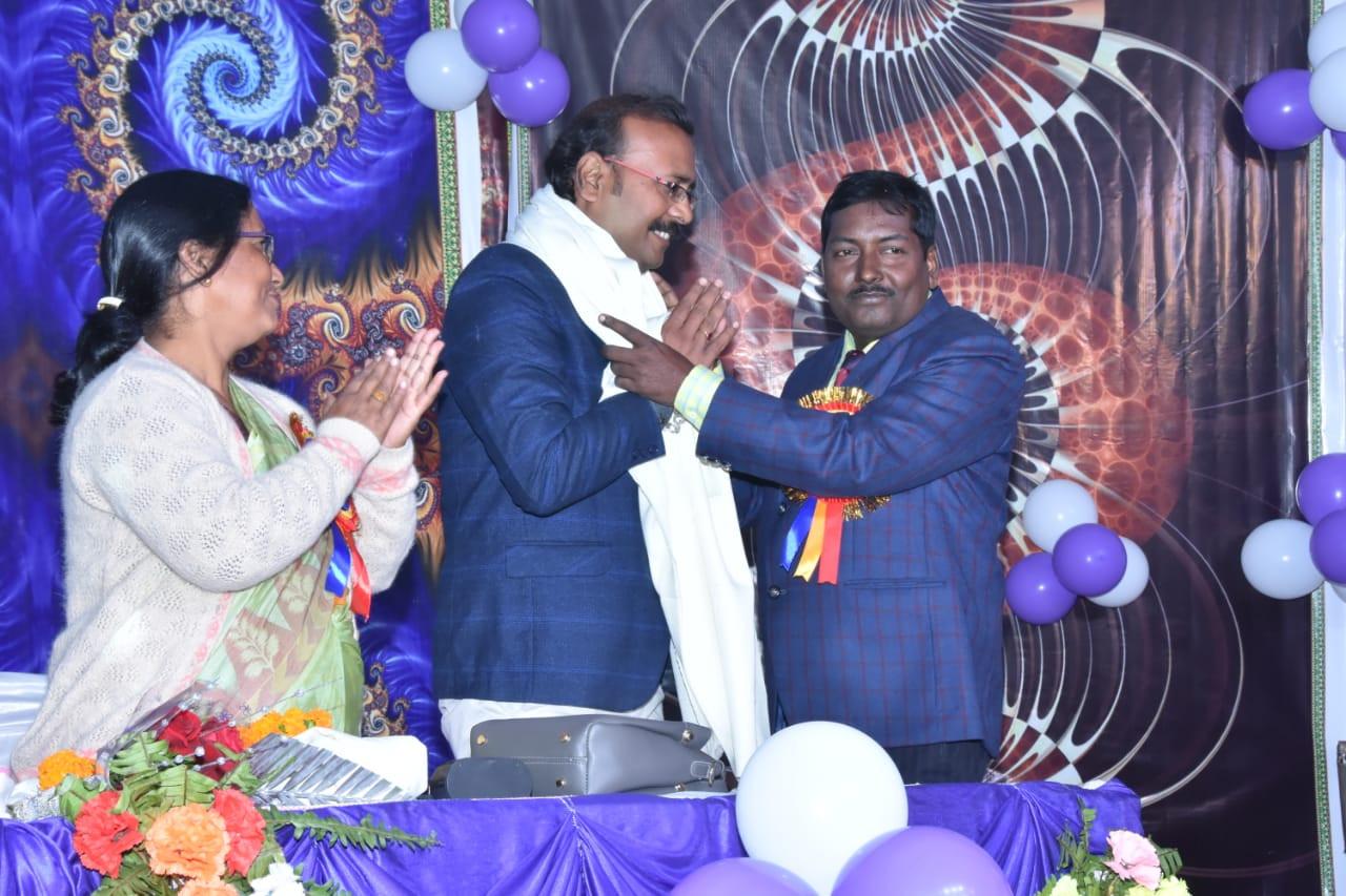 Got honour at the program of Tulshi Publ