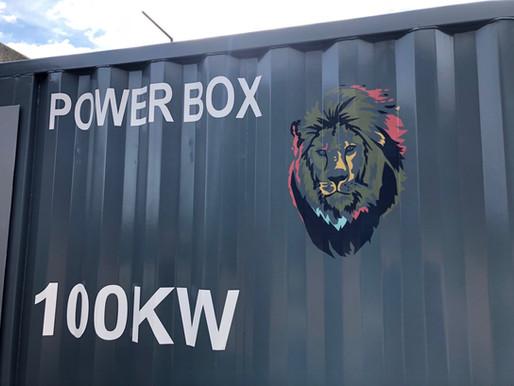 Powerlink 100kW Bio-Gas engine