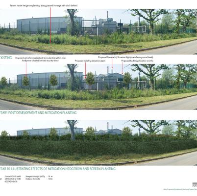 CHP plant planning application