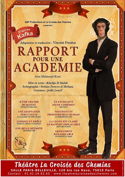 Rapport pour une académie