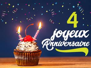 La Croisée des Chemins fête ses 4 ans !