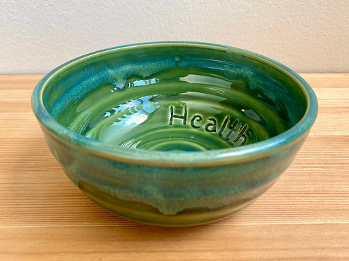 Health Bowl by Jane Lester