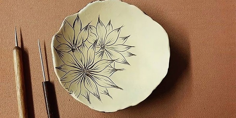 March 27th: Sgraffito Workshop with Amy Pellegrino