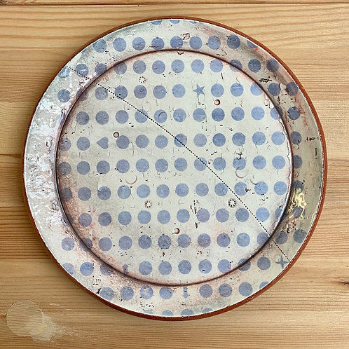 Round Plate by Mike O'Neal