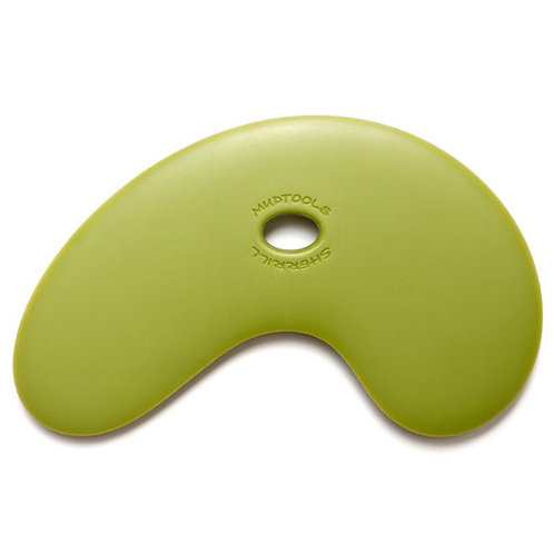 Large Bowl Polymer Rib- Green (Firm)