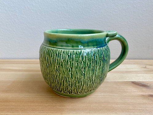 Green Mug by Lela Ransohoff