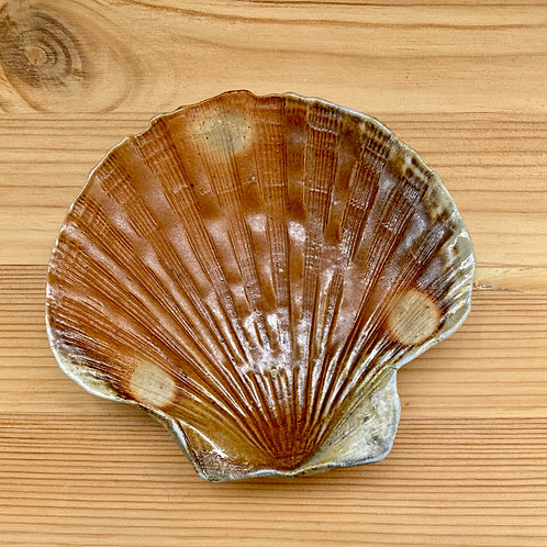 Seashell Dish by Madville Pottery