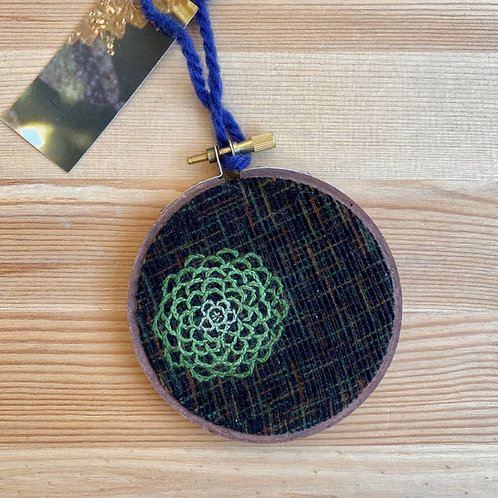 Stitched Ornament by Amy Stewart