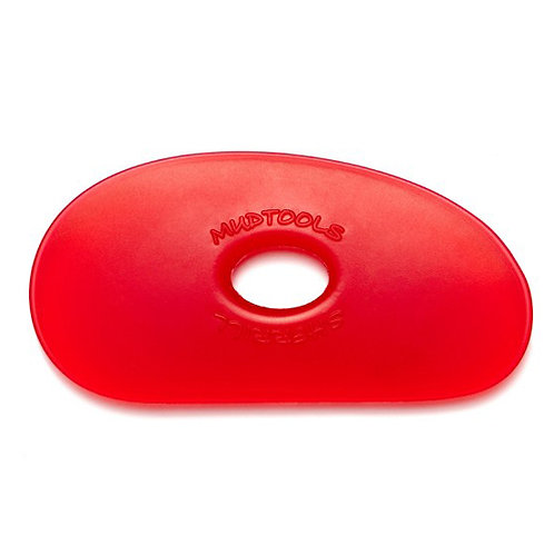 Shape 1 Polymer Rib- Red (Very Soft)