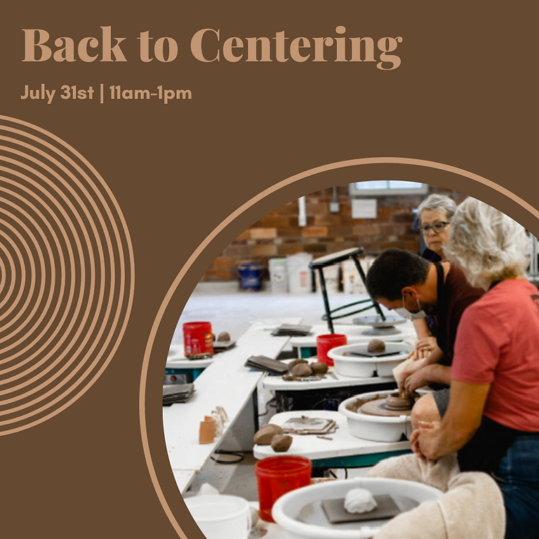 July 31st: Back to Centering