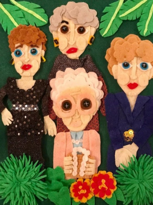 Golden Girls by Sara Leah Miller