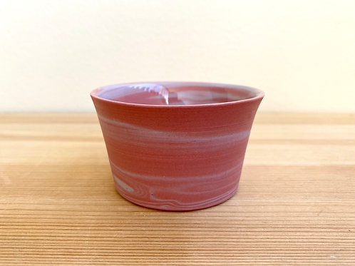 Small Pink & Purple Cup by Emily Hobart