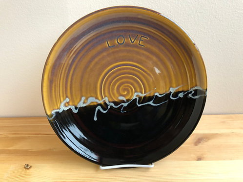 Large Plate by Jane Lester