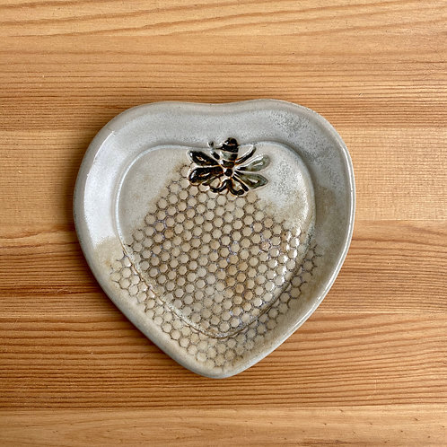 Small Heart Plate by LeAnn Price