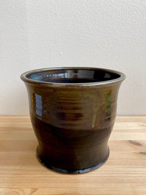 Black Pot by Madville Pottery