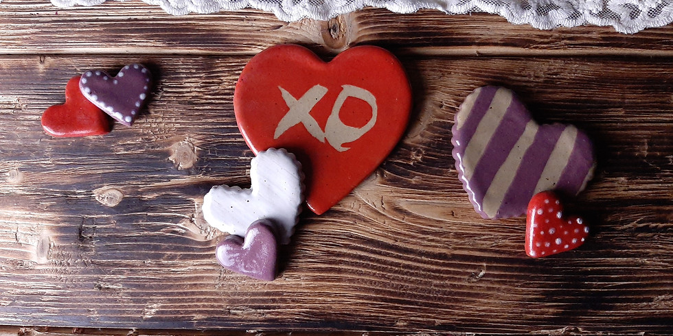 Valentine's Event: Make a Sweetheart for your Sweetie SOLD OUT