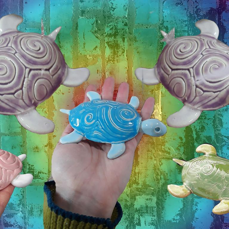 June 26th: Sculpting- Turtles