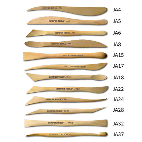 "6"" Wood Modeling Tool Set JAS"