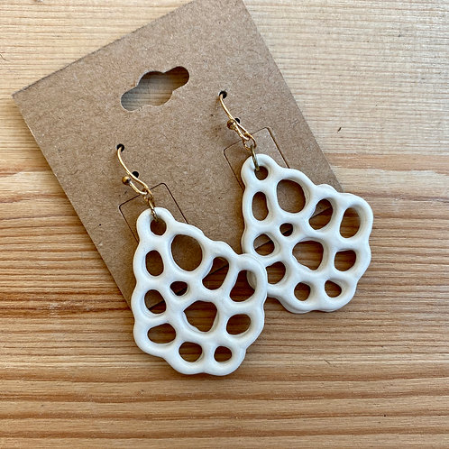 Earrings by Emily Hobart