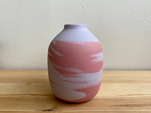 Marbled Vase by Emily Hobart