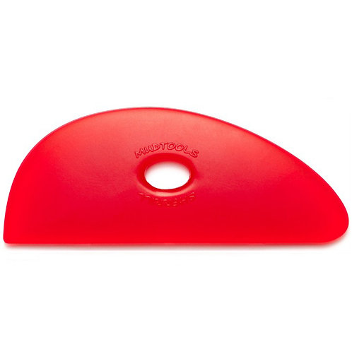 Shape 3 Polymer Rib- Red (Very Soft)