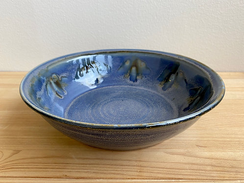 Blue Bowl By LeAnn Price