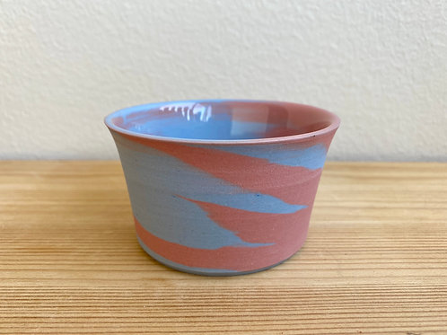 Blue and Pink Cup by Emily Hobart