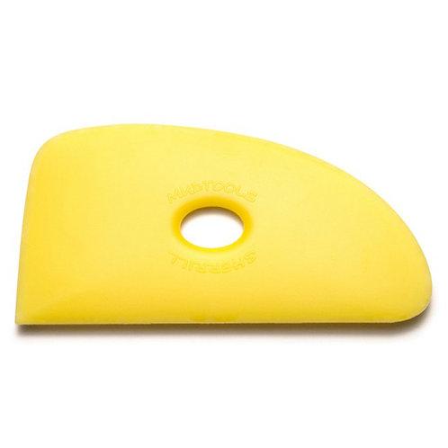 Shape 4 Polymer Rib- Yellow (Soft)