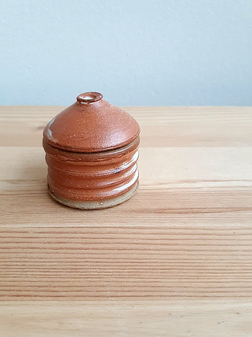 Small Lidded Vessel by Madville Pottery
