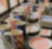 Handmade Mugs by Laura Davis at Core Clay, Cincinnati