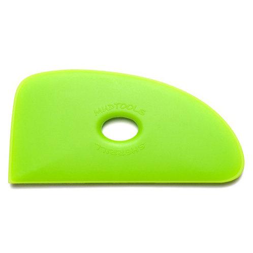 Shape 4 Polymer Rib- Green (Medium)
