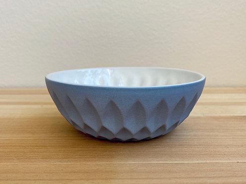 Blue Slip Cast Bowls
