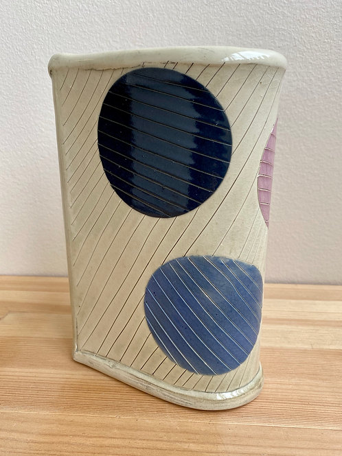 Vase with Dots by Laura Davis