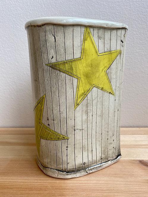 Star Vase by Laura Davis