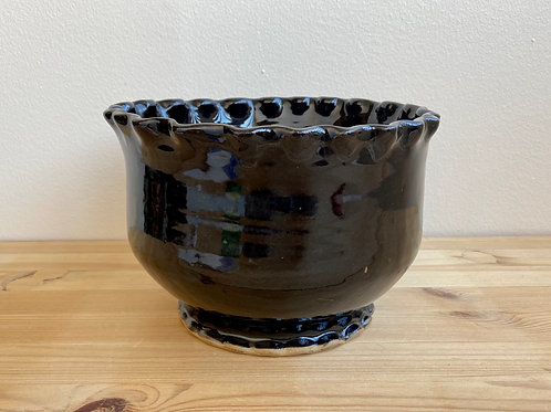 Black Bowl by Madville Pottery