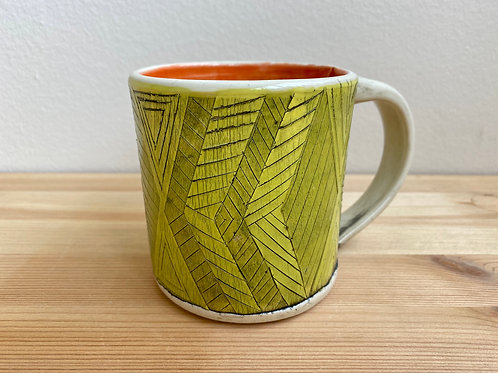 Yellow Mug by Laura Davis