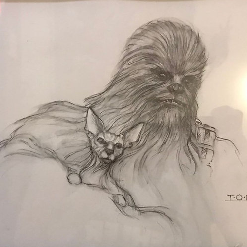 Thomas O Miller, Chewie and Pet